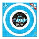 送料無料!パナソニック 30形+40形丸型蛍光灯・昼光色パルックe-Day FCL3040EXDE2TF