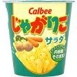 【Calbee】【カルビー】じゃがりこ サラダ 1カップ(60g)【じゃが芋】【スナック菓子】