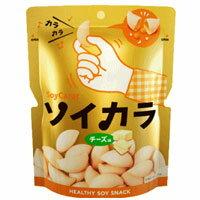【大塚製薬】【SoyCarat】ソイカラ チーズ味 1袋(27g)【大豆イソフラボン】【スナック菓子】