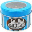 【HERSHEY'S】ハーシーズ キャンドル ストライプ缶キスチョコキャンドル 184g【ロウソク】【キャンドル】