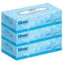 【クレシア】【Kleenex】【AQUAVeil】クリネックス アクアヴェールティッシュ 3箱パック(180組×3箱)【保湿成分】【ボックスティッシュー】