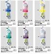 【定形外郵便なら250円で発送可能】KVK スケルトンシャワーヘッド 低水圧・節水 PZ964B 他社対応アタッチメント付 ※お色を選びください。
