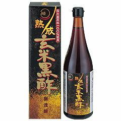 オリヒロ 熟成玄米黒酢(JAS)(720ml)の商品画像