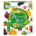 ショッピング青汁 ユーワ おいしいフルーツ青汁 3g×20包_
