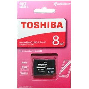 TOSHIBA microSDHCメモリーカード 8GB (UHS-I CA-MC008GS)