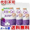 ビーンスタークマム 毎日葉酸+カルシウム 42粒(14日分)×3個セット ゆうメール送料無料