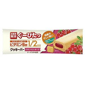 ぐーぴたっ クッキーバー クランベリーチーズ(1本入)