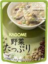 カゴメ 野菜たっぷり 豆のスープ 160g 3.5年保存 賞味期限2021年6月