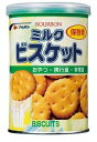 ◆ブルボン 缶入 ミルクビスケット 5年保存 1ケース(入数24缶)