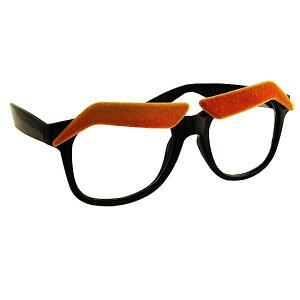【おもしろメガネ】ジョークメガネ アイブロウ ブラ