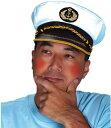 マドロスハット(キャプテンハット)【水夫 船乗り 船員 ひばり 帽子 船長】【B-0227_009155】