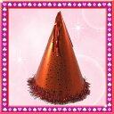 【パーティー 帽子】三角帽子(レッド)[三角帽 とんがり帽子 トンガリ帽子 クリスマス パーティー ...