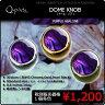 Q-Parts DOME KNOB ドーム・ノブ [Purple Abalone] 1個《ご希望のカラーをお選びください》