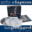 Eric Clapton 『MTV Unplugged 2 CD + DVD Deluxe』 アンプラグド〜アコ-スティック・クラプトン DELUXE 2CD+DVD [WPZR-30487/9]