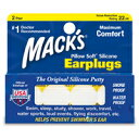 Mack's Ear Plugs 5EP Pillow Soft Silicone Earplugs -The Original Moldable Silicone Putty Ear Plugs(2ペア)《耳栓》