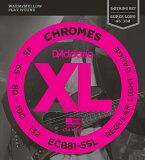 D'Addario ECB81-5SL Chromes - Flat Wound 《ベース弦》 ダダリオ 【※メール便】