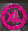 D'Addario ECB81 Chromes - Flat Wound 《ベース弦》 ダダリオ
