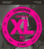 D''Addario ECB81 Chromes - Flat Wound 《ベース弦》 ダダリオ 【※メール便】