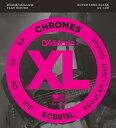 D'Addario ECB81SL Chromes - Flat Wound 《ベース弦》 ダダリオ