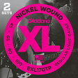 D'Addario EXL170TP Nickel Round Wound - Twin Packs 《ベース弦》 ダダリオ