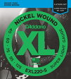 D'Addario EXL220-5 Nickel Round Wound 《ベース弦》 ダダリオ 【ネコポス】