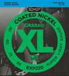 D'Addario EXP220 Coated Nickel Round Wound 《ベース弦》 ダダリオ