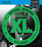 D''Addario EXL220BT XL Balanced Tension (40-95)《ベース弦》【※メール便】