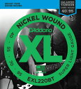 D'Addario EXL220BT XL Balanced Tension (40-95)《ベース弦》【5セット】 【送料無料】