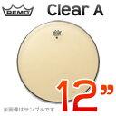 """REMO Clear A(アンバサダー) 12""""(30cm) 〔C-12TA〕《ドラムヘッド》レモヘッド"""