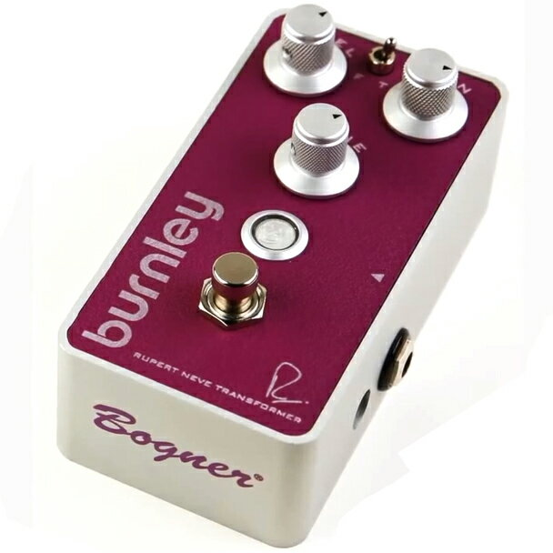 Bogner Neve Pedals BURNLEY RUPERT NEVE DESIGNS DISTORTION《エフェクター/ディストーション》【送料無料】【マーキングシールプレゼント】