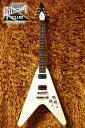 Gibson V-Factor X - 1968 Flying V (Classic White)【エレキセット付】【送料無料】【今ならメトロノーム機能付チューナープレゼント!!】