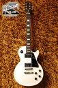 Gibson Les Paul Studio (White/Chrome Hardware)【スタンドセット付】【送料無料】【今ならメトロノーム機能付チューナープレゼント!!】