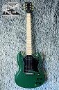 入荷しました!【Special Run Series】Gibson SG Raw Power (Satin Olive Green)【スタンドセット付】【送料無料】
