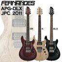 Fernandes APG-DLX JPC 2011 BLK / DR / N フェルナンデス ギター【送料無料】
