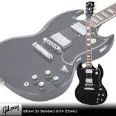 Gibson SG Standard 2014 (Ebony) 【送料無料】