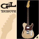 G&L Tribute Series ASAT Classic Bluesboy Semi-Hollow (Blonde / Rosewood)【G&Lアクセサリーキット付】【送料無料】