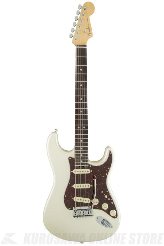 Fender American Elite Stratocaster, Rosewood Fingerboard, Olympic Pearl《エレキギター》 【エレキギター/ストラトキャスター】《フェンダー》