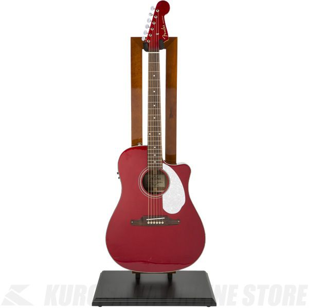 Fender Hanging Guitar Stand, Cherry with Black Base《ギタースタンド》