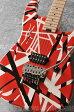 EVH Striped Series (Red with BLK Stripes)【EVHピックセット+弦2セット付】
