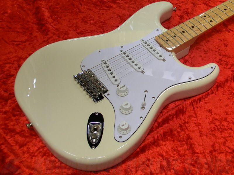 Fender Japan Exclusive Series / Classic 68 Strat Left Hand, Maple Fingerboard, Vintage White 《エレキギター》 【ストラッププレゼント!】
