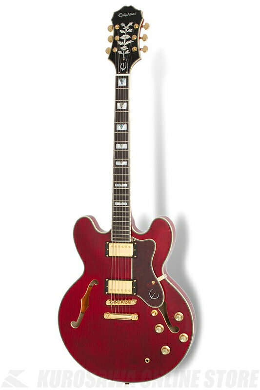 Epiphone SHERATON-II PRO (ProBuckers; Coil-Tapping)(Wine Red)[ETSPWRGH1]《エレキギター》【送料無料】