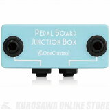 One Control Minimal Series Pedal Board Junction Box(Blue)《ジャンクションボックス》