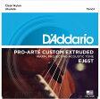 D'Addario Pro-Arte Custom Extruded Ukulele, Tenor EJ65T [EJ65T] 《テナーウクレレ用弦》【ネコポス】