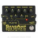 Tech21 SANSAMP BASS DRIVER DI V2 《ベース用オーバードライブ/DI》【送料無料】