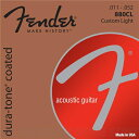Fender 80/20 Coated Acoustic Guitar Strings(11-52)