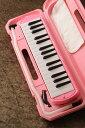 KC/キョーリツコーポレーション ピアニカ キョーリツ メロディーピアノ(ピンク) 《鍵盤ハーモニカ》 [P3001-32K] 【今ならドレミシールプレゼント!...