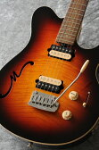 MUSICMAN Axis Super Sport Semi-Hollow Body HH trem Rosewood Fingerboard,Matching Headstock (Vintage Sunburst)【送料無料】【受注生産品】
