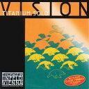 Vision Titanium Solo 4/4 Vision Titanium Solo E線 VIT01 ステンレススチールワイヤーチタニウムデザイン 【ネコポス】