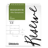 D'Addario Woodwinds RESERVE ダダリオ レゼルヴ アルトサックス用リード 10枚入り【一部サイズ(強度)ご予約受付中】