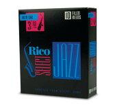 RICO/D'Addario WoodWinds ジャズセレクト アルトサックスリード 10枚入り <ファイルドカット>